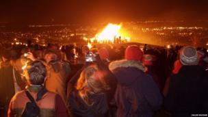 Edinburgh's Hogmanay festivities. Photo: Calum Macnab