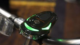 Cycle manufacturer Schwinn is attempting to solve the problem of finding your way on two wheels with the CycleNav, which connects to a smartphone and guides riders via three LED-lit green arrows and voice instructions. The gadget also works as a bike light, and provides journey data, such as distance travelled.