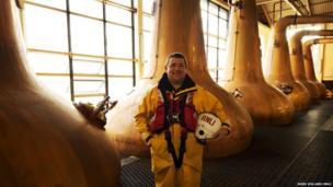 Islay crew member portrait