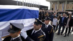 State memorial for Israel's former PM Ariel Sharon
