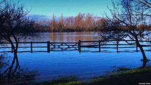 Severn flood plane. Photo: Richard Wand