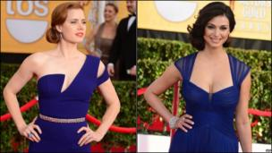 Amy Adams and Morena Baccarin