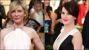 Cate Blanchett and Michelle Dockery