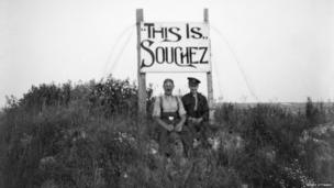 Sign saying This is Souchez