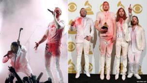 Imagine Dragons and Kendrick Lamar