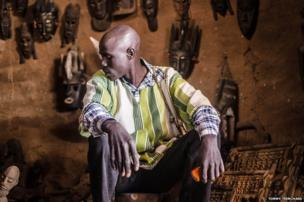 Artisan Amadou Guindo in Mali