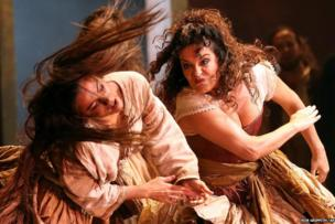 Rehearsals for Carmen at the Opera House in Sydney, Australia