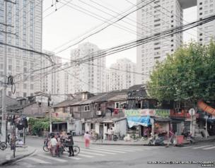 City landscapes from Shanghai city