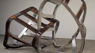 Lock by Richard Deacon