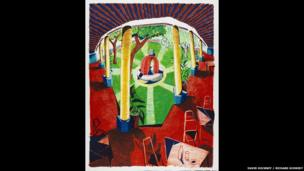 David Hockney, Views of Hotel Well III