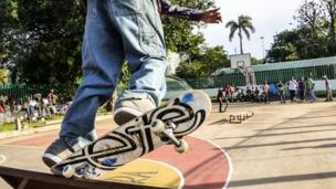 The young people who run Projecto Radical believe street sports like skateboarding offer more than just fun. It helps to keep them physically active and avoid issues around drugs and crime.