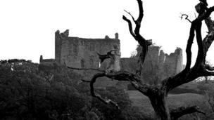 Llansteffan Castle, Carmarthenshire