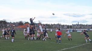 Rugby game