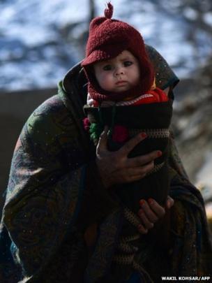 Child in Kabul