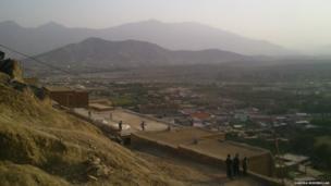 Landscape, Kabul