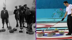 Curling 1924 and 2014