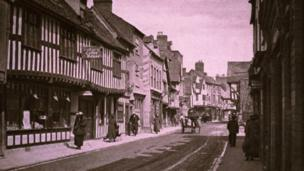 Friar Street in about 1915