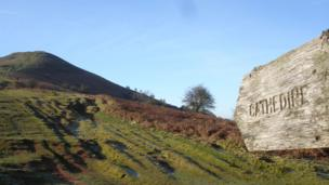 Stuart Cardell, who is currently travelling in Italy, captured this view while on a visit to his parents, walking in the beautiful early spring sunshine to the foot of Mynydd Llangorse in the Brecon Beacons