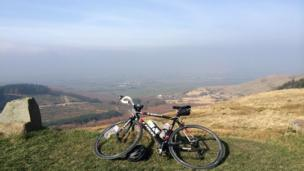 Gethin Davies-Jones from Nelson photographed this view from Rhigos on a recent cycle ride