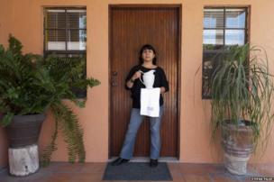 Patricia Ruiz Bayon in Matamoros, Mexico
