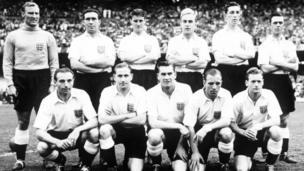 1954 England kit