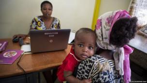 Data checking in Kenya