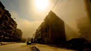 Aleppo building
