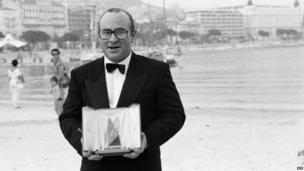 Bob Hoskins at the 1986 Cannes Film Festival