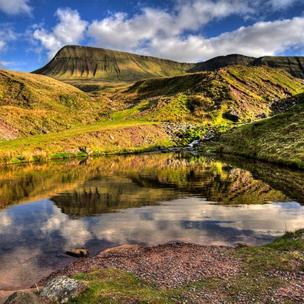 Llyn y Fan Fach in the Brecon Beacons