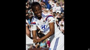 Burkinabe footballer Bakary Kone in Lyon, France - Sunday 27 April 2014