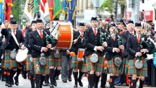 Jersey Pipe Band