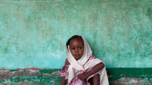 A Muslim girl takes refuge in a Koranic school in the majority Muslim neighbourhood