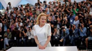 Nicole Kidman poses
