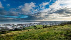 Swansea Bay from Kilvey Hill