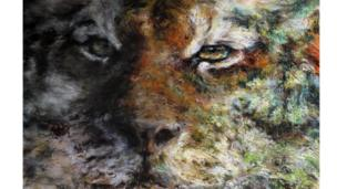 Deforestation by Penny Absolom Pastel & Mixed Media