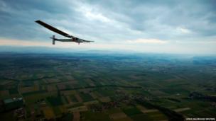 Solar Impulse 2 in flight