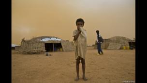 Assafa, a Malian refugee in Burkina Faso.