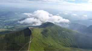 Pen y Fan in the Brecon Beacons