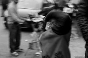 Child beggar
