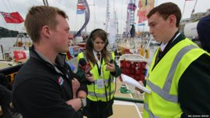 Aaron interviews Niall Boyle who sailed on the Derry-Londonderry Clipper in 2011