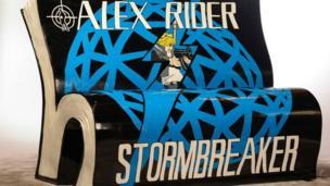 Alex Rider bookbench