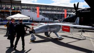 Selex ES Falco UAV (unmanned aerial vehicle)