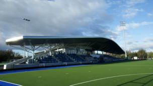 The Glasgow National Hockey Centre