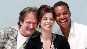In 1997, Williams starred in What Dreams May Come with Annabella Sciora and Cuba Gooding Jr