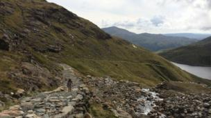 Llwybr hir a chaled? // A long and difficult path?