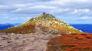 Hill in Lochnagar