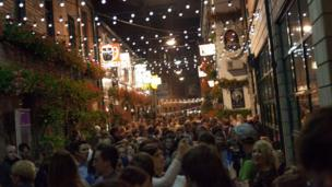 Cathedral Quarter on Culture night