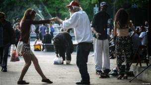 Dance in Washington Square Park