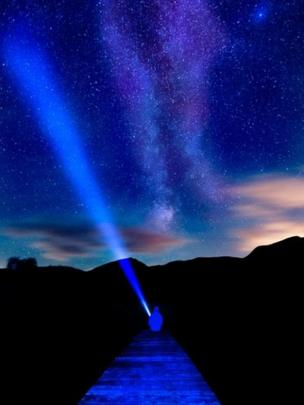 The Milky Way over Llyn Cwellyn, Snowdonia