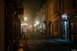 Street in Bath, England